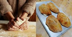 Τυρόπιτες κουρού: Η αυθεντική συνταγή για αφράτες και τραγανές τυρόπιτες, έτοιμες σε 5 λεπτά Kai, Food To Make, French Toast, Bread, Breakfast, Recipes, Morning Coffee, Brot