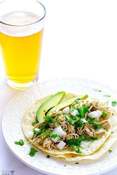 Easy Four-Ingredient Slow Cooker Chicken Tacos | 21 Mouthwatering Taco Recipes You Need To Try