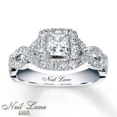 neil lane rings | Kay - Neil Lane Engagement Ring 1 ct tw Diamonds 14K White Gold