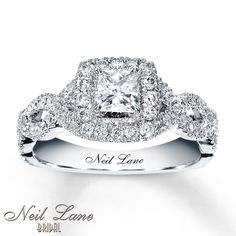 neil lane rings | Kay - Neil Lane Engagement Ring 1 ct tw Diamonds 14K White Gold