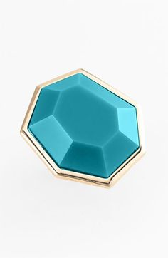 kate spade new york 'mulholland drive' faceted ring