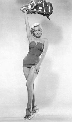 Marilyn by Bert Reisfeld, 1953.