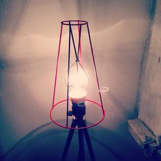 Lamp upcycling