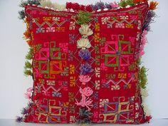 MODERN Bohemian Home DecorTurkish Kilim Pillow Cover  16 by sofART,