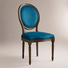 One of my favorite discoveries at WorldMarket.com: Peacock Ella Side Chairs, Set of 2