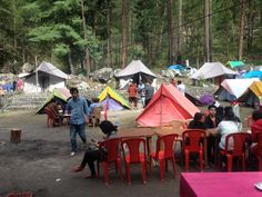 Camping in Kasol