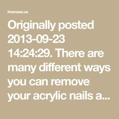 Try these 3 easy effective methods on how to remove fake acrylic nails easily at home with little to no pain and no damage. Takes less than 40 minutes to remove your acrylic overlay at home. What Are Acrylic Nails, Acrylic Nails At Home, Remove Acrylics, Remove Acrylic Nails, Remove Fake Nails, Acrylic Overlay, Vacation Nails, Get A Boyfriend, Nail Soak