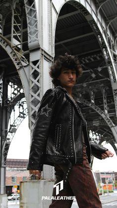 Boys Leather Jacket, Leather Men, Leather Jackets, Black Leather, Daily Dress, Moto Jacket, Business Fashion, Stylish, Casual