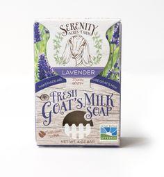 Serenity Acres Farm – Goat's Milk Soap — The Dieline - Branding & Packaging