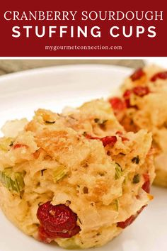 When it comes to Thanksgiving, stuffing holds an honored place in many family meals. This recipe breaks from tradition by baking individual servings in muffin tins rather than in a casserole or inside the turkey. Perfectly portioned and delicious! Fall Dessert Recipes, Fall Desserts, Thanksgiving Recipes, Fall Recipes, Appetizer Recipes, Holiday Recipes, Thanksgiving Stuffing, Holiday Meals, Christmas Recipes