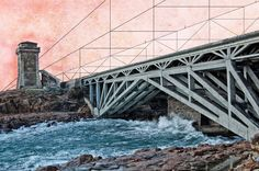 Tum Ad Re, Livorno, Bridge.