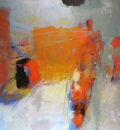 Coda / acrylic / 52 x 48 in. / by Tony Saladino