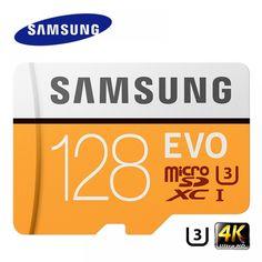 SAMSUNG Memory Card EVO 256GB 128G 64GB Micro SD Class10 4K Ultra HD MicroSD Card C10 UHS-I Trans Flash For Samsung Galaxy S8 S7  Price: 20.00 & FREE Shipping  #tech|#electronics|#gadgets|#lifestyle Evo, Galaxy S8, Samsung Galaxy, Card Reader, Sd Card, Brand Names, Gadgets, Memories, Gadget