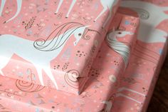 unicorn wrapping paper!