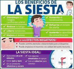 Los beneficios de hacer siesta