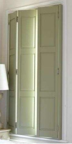 folding shutters