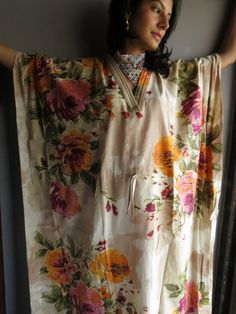 Cozy Kaftan Style made From D2 Fabric Pattern