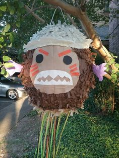 Check out this item in my Etsy shop https://www.etsy.com/listing/537142633/kakamora-pinata-pull-string-or-hit