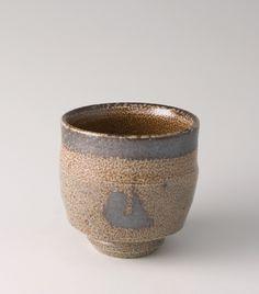 Shinsaku Hamada Yunomi, Salt Glaze Stoneware