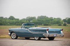 1957 Oldsmobile 98 Starfire Convertible Maintenance of old vehicles: the material for new cogs/casters/gears could be cast polyamide which I (Cast polyamide) can produce