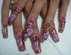 15 Acrilicos De Color Para Decoracion De Uñas Gel Cristales ...