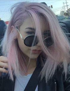 sunglasses grunge accessory makeupbymandy24 pastel hair pink hair