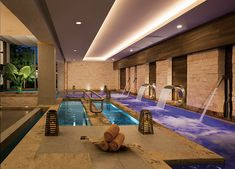 Relax and renew in our luxury hydrotherapy spa at Secrets Aura!