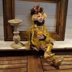 Art Doll - Fantasy Doll - Handmade Doll - Artistic Doll  - Handmade - Doll - Collectible - Fantasy - Old Fashioned - OOAK Doll - Fine Art by Rustiikkitupa on Etsy