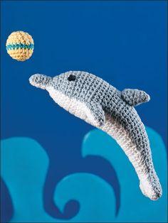 Patrón gratis amigurumi de delfin – amigurumis y más