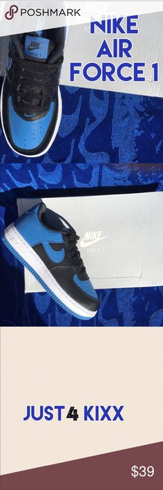Nike Air Force 1 Nike Air Force 1 always a classic...Boys Sizes 13 and 1 Nike Shoes Sneakers