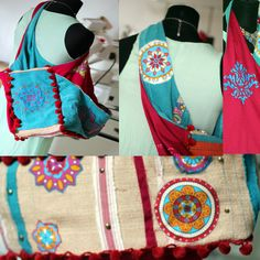 casual bag BOHO EVE, preparation process, mix