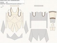 AC3 - Connor - Coat (Body Block Version) by Trujin