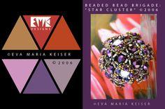 "Eva Maria Keiser Designs: Keiser Designs Colorways: ""Star Cluster"" | 2006"