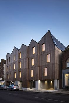 RIBA Announces Six Winners for South East Awards,Cinque Ports Street; Wood Architecture, Cultural Architecture, Patio Central, Wooden Facade, Landscape And Urbanism, Townhouse Designs, Social Housing, Unique Buildings, House Roof