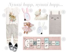 H&M easter kids by endresz-timea on Polyvore featuring interior, interiors, interior design, home, home decor and interior decorating