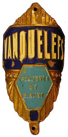 Jeffrey Conner on Flickr   I    Peronnes et Binche, Wallonia, Belgium   Brass, 73mm tall.
