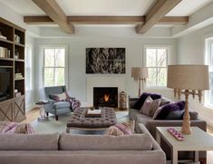 Contemporary farmhouse style offers chic living in the Boston suburbs