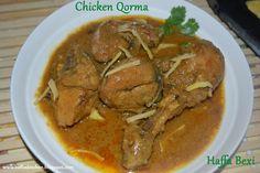 Chicken Korma (Stew) Authentic Recipe :) http://haffaskitchen.blogspot.com/2014/11/chicken-korma-stew.html Enjoy!