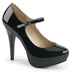 16b70d141a Black 1950s Pinup Girl High Heels Mens Drag Queen Tranny Womans Shoes 14 15  16. Mary Janes, Ankle ...