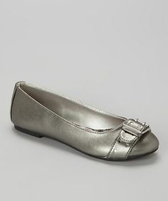 Take a look at this Pewter Hera Flat by Jessica Simpson Collection on #zulily today!