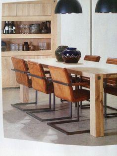 Keukentafel stoelen van Goossens