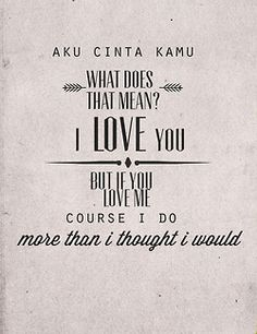 """Malec feels! M:""""aku cinta kamu"""" A:""""What does that mean?"""" M:""""I love you"""" A:""""but if you love me..."""" M:""""course I do, more than I thought I would... but we're still done...it doesn't change what you did"""""""