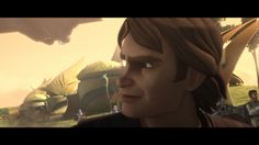 Anakin: what I am looking at  - I don't know maybe the droid Ahsoka just blew up