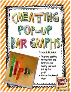 Creating Pop-Up Bar Graphs - An Interactive Graph  - Make your graphing lessons POP! $