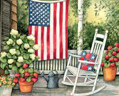 Susan Winget / LANG calendar, Old Glory / June 2016