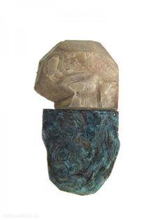 Jenny Klemming : copper, silver, acrylic resin, silk, steel