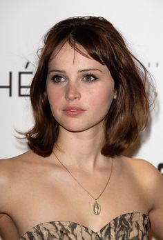 Felicity Jones - Anastasia Steele.  Always thought she was a contender