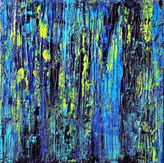 ARTFINDER: Abstract Fragments #53 by Carla Sá Fernandes - This acrylic painting is done on gallery wrapped canvas, with no need for framing, as the edges are painted. Ready to hang.   This piece is painted with ir...