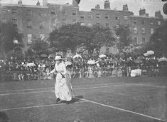 Tennis match, possibly at Fitzwilliam Square, Dublin Old Pictures, Old Photos, Vintage Photos, Ireland Homes, Photo Engraving, Tennis Match, Dublin City, Dublin Ireland, Conversation