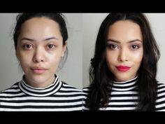 Smokey eye fácil, labios rosas     Lilia Cortés - YouTube